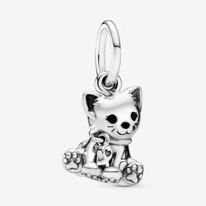 Pandora Kitty-Cat Dangle Charm